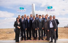 A 120th anniversary of Kazakhstani oil was celebrated in Atyrau